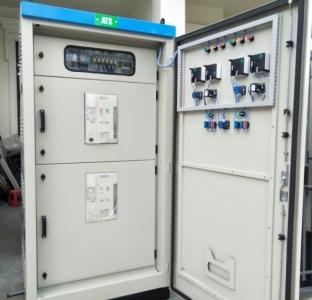 Tủ ATS Mitshubishi 2000A dùng PLC Siemens LOGO! 230RCE
